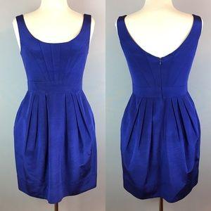 Shoshanna Empire Waist Pocket Dress Pleats Size 6